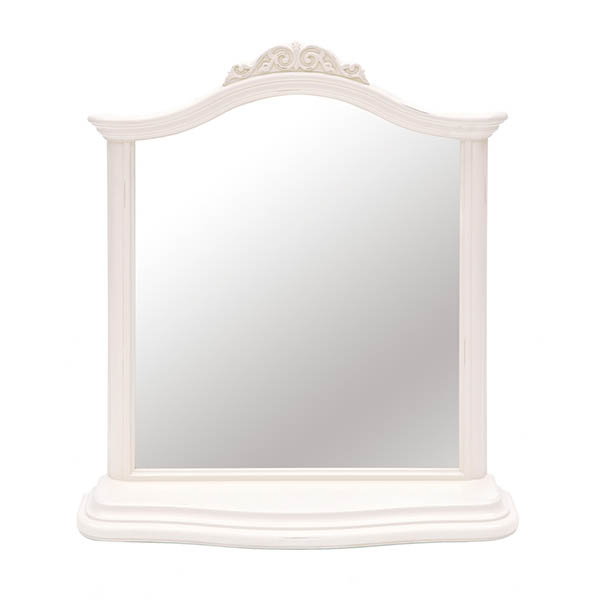 Willis & Gambier Ivory Gallery Mirror