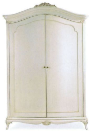 Willis and Gambier Ivory Wide Fitted Wardrobe
